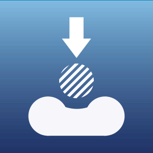 compression burst test icon
